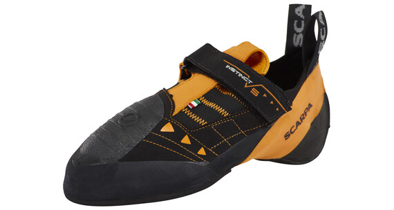 Scarpa Instinct VS Klatresko orange/sort